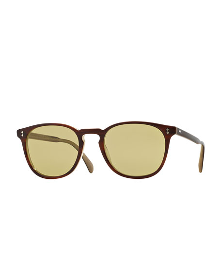 Oliver Peoples Finley Esq. 51 Photochromic Sunglasses, Dark