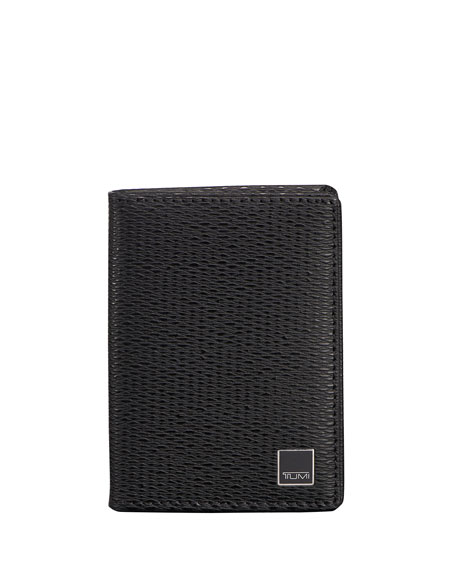 TumiMonaco Gusseted Card Case with ID Lock Technology,