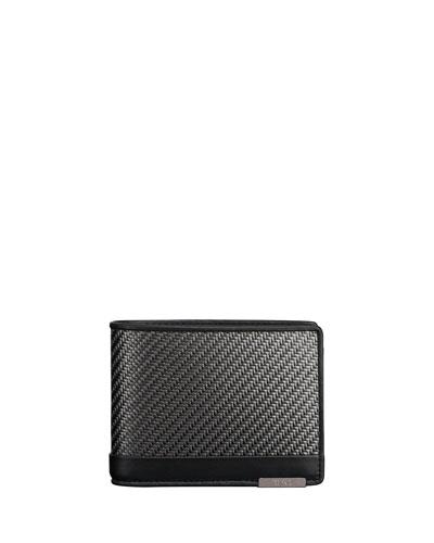 CFX Double Bi-Fold Global Wallet, Carbon