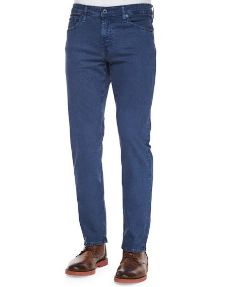 AG Graduate Sulfur Wash Jeans, Blue
