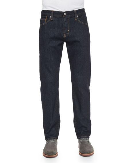 AG Graduate Jack Dark Wash Denim Jeans, Indigo