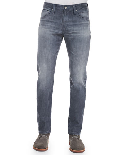 Nomad Sulfur Slim-Fit Jeans, Dark Gray