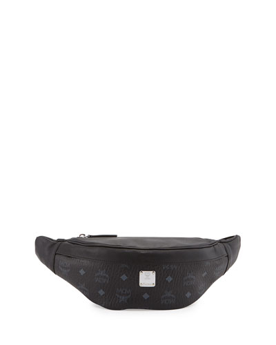 Color Visetos Fanny Pack, Black