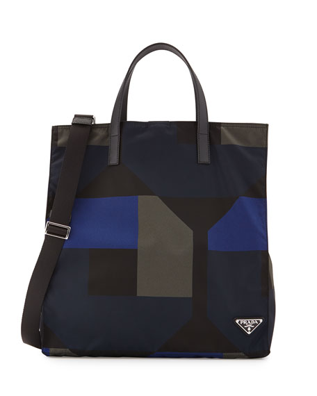 prada vela nylon tote - prada printed handle bag, replica handbag suppliers
