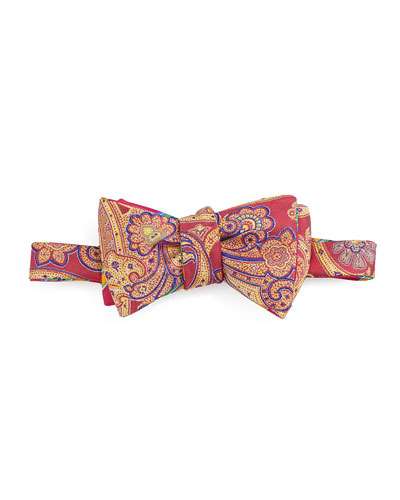 Paisley Bow Tie, Pink