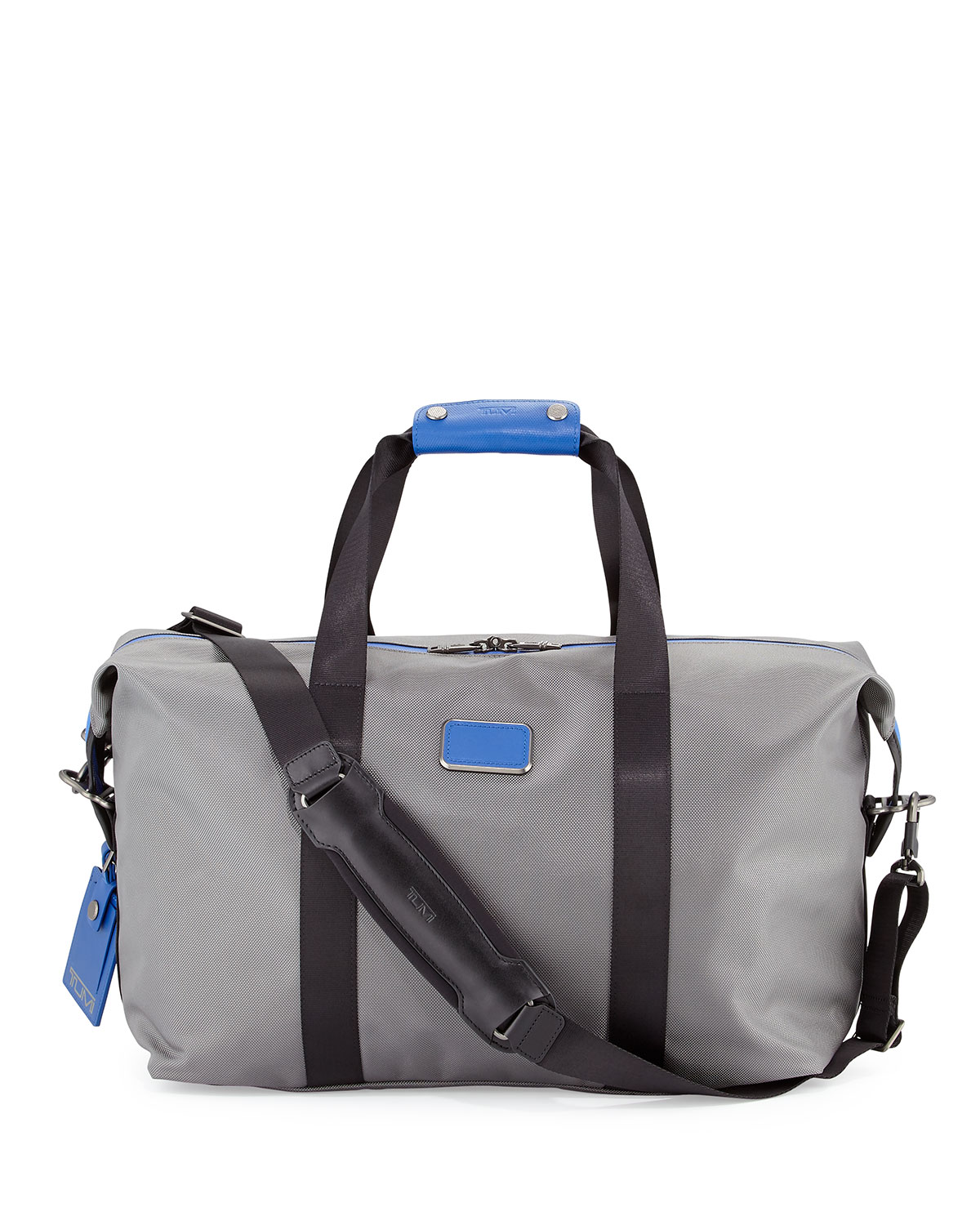 Small Alpha Duffel Bag Gray