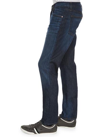 Men's Tyler Revelled Slim-Fit Denim Jeans, Indigo