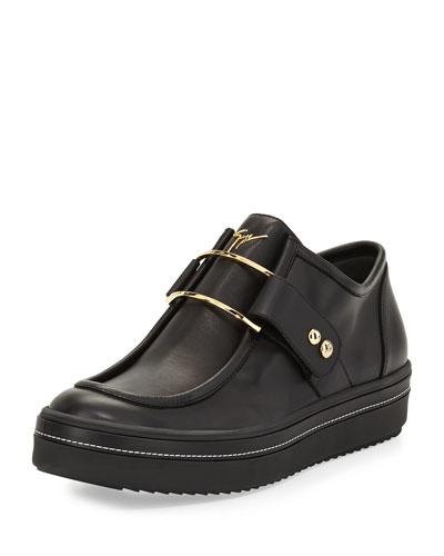 Men's Wallaby Slip-On Sneaker, Black