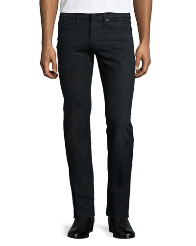 Tyler Wolf Slim-Fit Jeans, Black