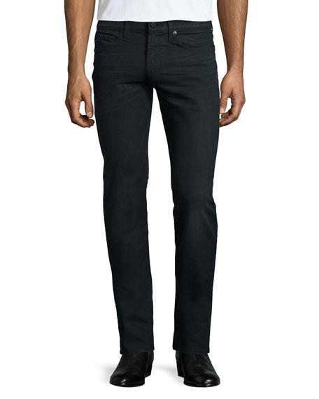 J Brand Jeans Tyler Wolf Slim-Fit Jeans, Black