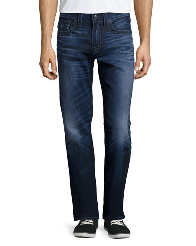 Ricky City Highlight Denim Jeans, Blue