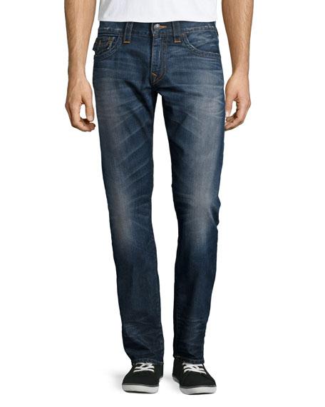 True Religion Geno Urban Dweller Denim Jeans, Blue