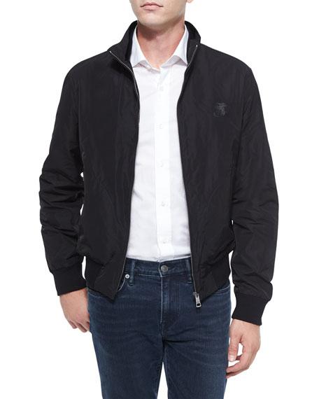 Burberry BritBradford Lightweight Blouson Jacket, Black