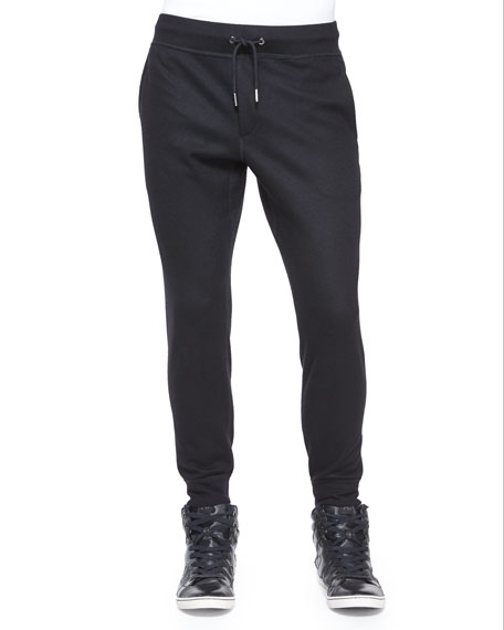 Rag & BoneSlim-Fit Stretch Jogger Pants, Black
