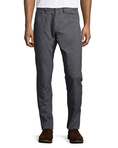 Haydin Straight-Leg Pants, Charcoal