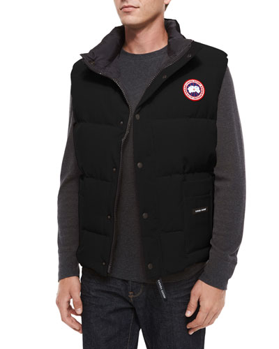 Canada Goose' Freestyle Down Vest - Men's Black, XXL