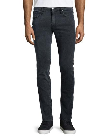 FRAME DENIML'Homme Fade Skinny-Leg Jeans, Gray