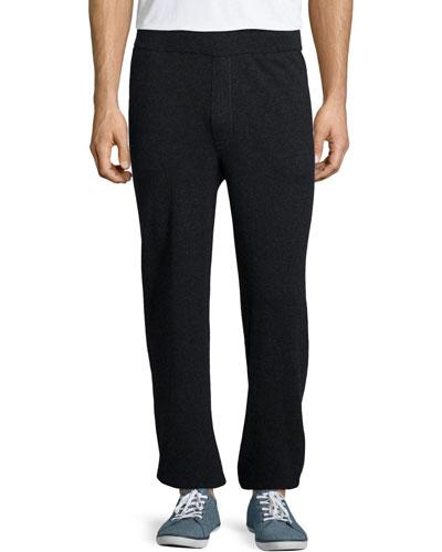 Cashmere Lounge Pants, Charcoal