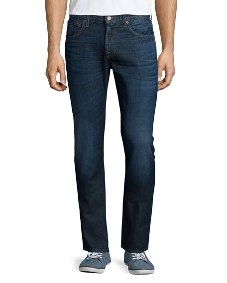 7 For All Mankind Paxtyn Misawa Road Vintage Denim Jeans, Blue