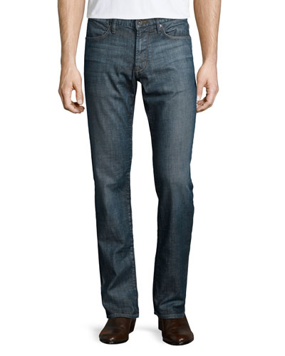 Bowery Slim-Fit Denim Jeans, Indigo