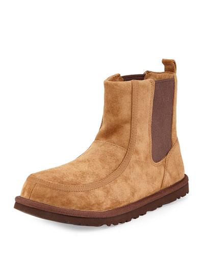 Bloke II Suede Chelsea Boot, Chestnut