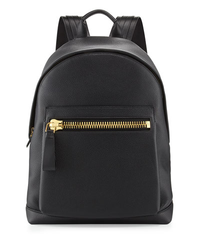 Buckley Zip-Pocket Backpack, Black
