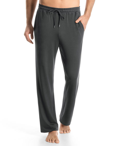 Hanro Harrison Solid Lounge Pants, Charcoal