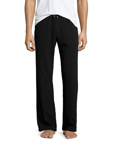 James Drawstring Sweatpants, Black