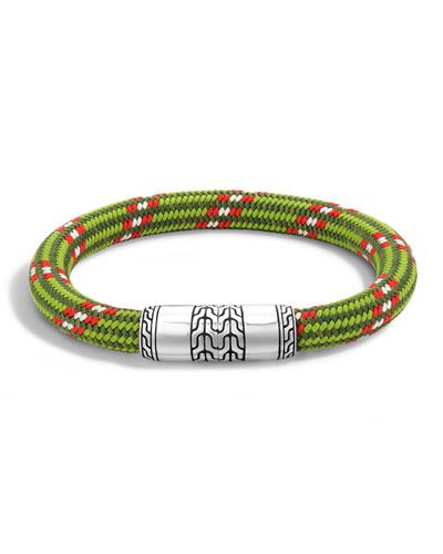 Classic Chain Multicolor Cord Bracelet