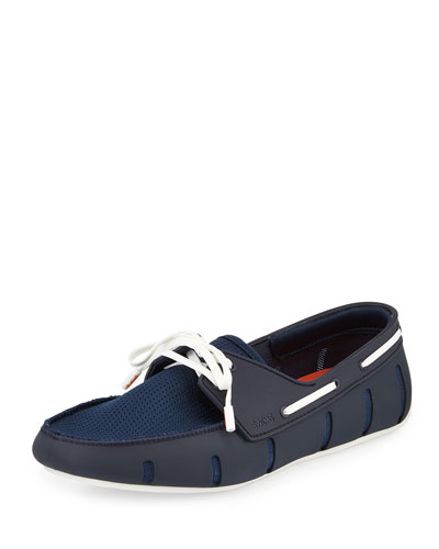 Water-Resistant Rubber Loafer, Navy