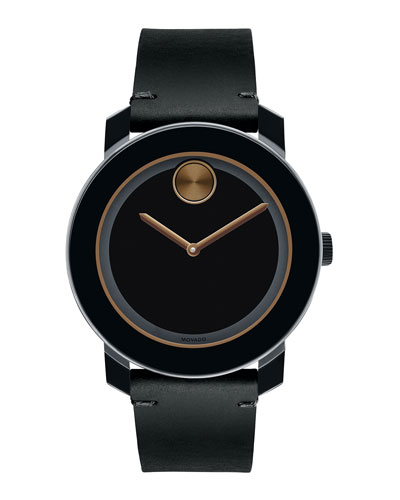 42mm Bold Watch, Black/Bronze