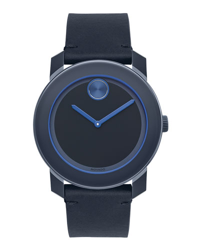 42mm Bold Watch, Navy