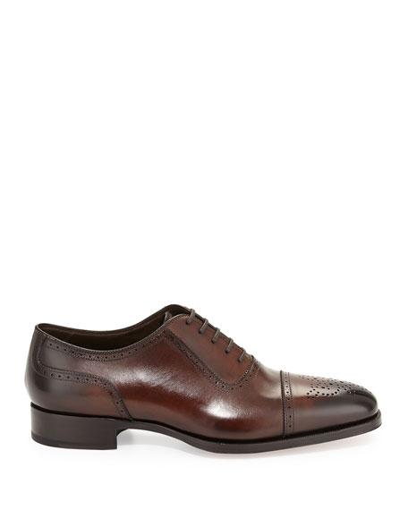 Austin Cap-Toe Oxford Shoe, Brown