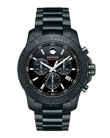 Series 800 Chronograph Watch, Black