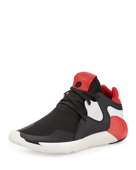 Y-3 Boost QR High-Top Sneaker, Multi