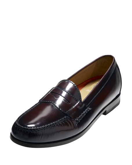 Pinch Grand Penny Loafer, Burgundy