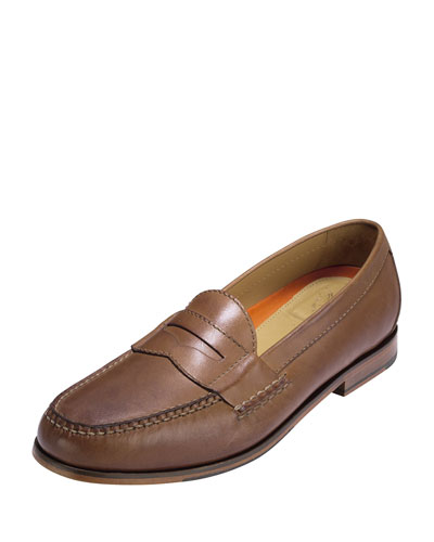 Pinch Grand Penny Loafer, Papaya