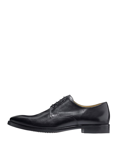 Cambridge Plain-Toe Oxford, Black