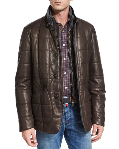 Men's Jackets & Coats at Neiman Marcus