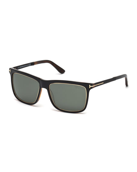 Tom Ford Havana Sunglasses  tom ford shiny metal sunglasses black havana