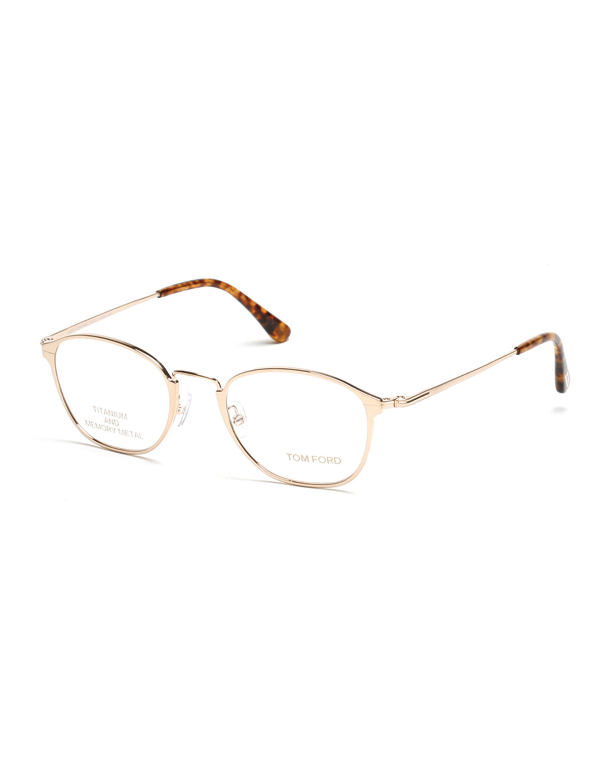 900cc1b9470 TOM FORD Titanium Metal Eyeglasses