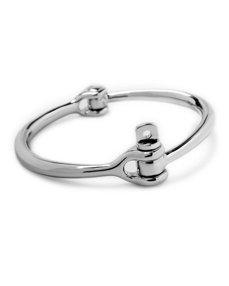Reeve Men's Polished Silver Bracelet