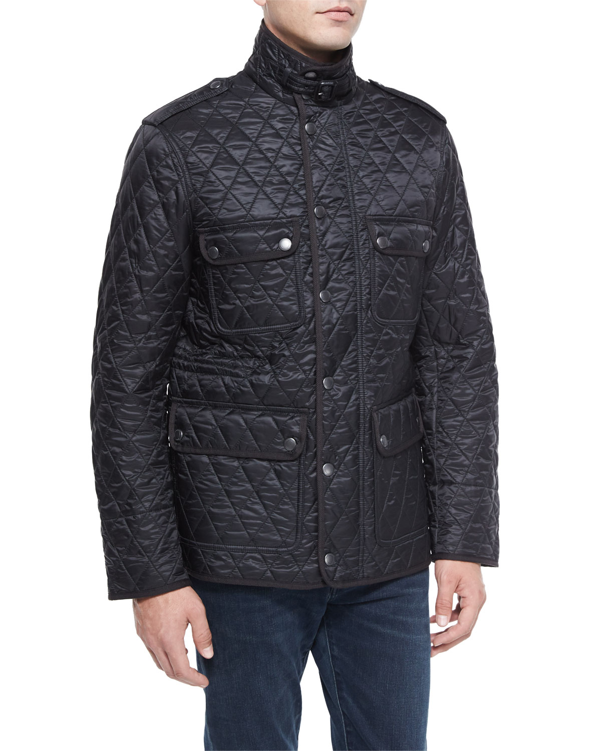 prorsum quilt padded s burberry jacket mens nylon filled quilted men cropped down