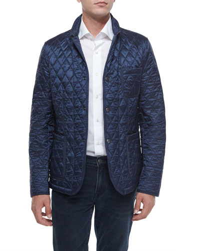 Howe Quilted Jacket, Navy