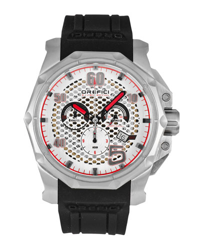 E.J. Viso Limited Edition Watch, Black/White