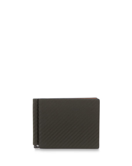 dunhill Chassis Money-Clip Billfold Wallet, Green