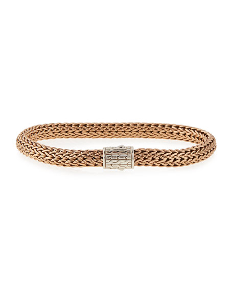 John Hardy Men's Square Small Chain Bracelet