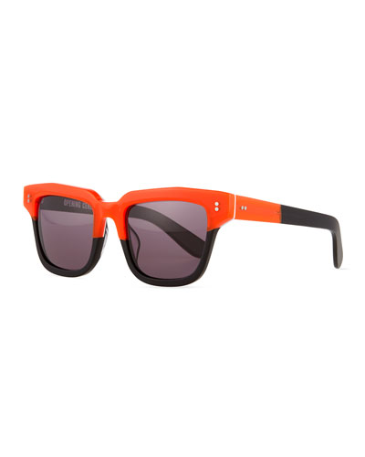Dart Square Sunglasses, Tangier Multi