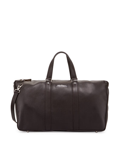 Keepers Leather Weekender Bag, Brown