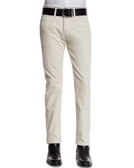 TOM FORD Five-Pocket Pinwale Corduroy Pants